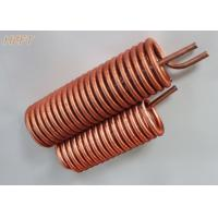 China Customized Flexible Copper Tube Coil in Domestic Water Boilers on sale