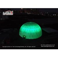 China Event Geodesic Dome Tent with Projection Screen with Aluminum  Frame on sale