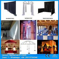 China Singapore Events decoration/ Drapery hardware pipe and drape systems on sale