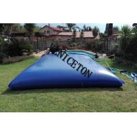 Quality collapsible soft PVC  20000L water storage tank for swimming pool water treatment in south African for sale