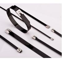 Quality Stainless Steel Cable Ties PVC Coated for sale