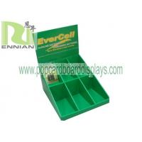 Quality Battery cardboard counter displays with costomized size display stand ENCD069 for sale