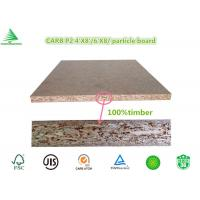 Quality China manufacturer E0/CARB P2 1220X2440X18MM standard plain particle board panel for sale