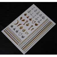 Quality Gold and Silver Metallic tattoo for sale