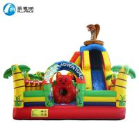 China Kids Outdoor Inflatable Bouncer Inflatable Forest Adventure Pattern Commercial Grade on sale