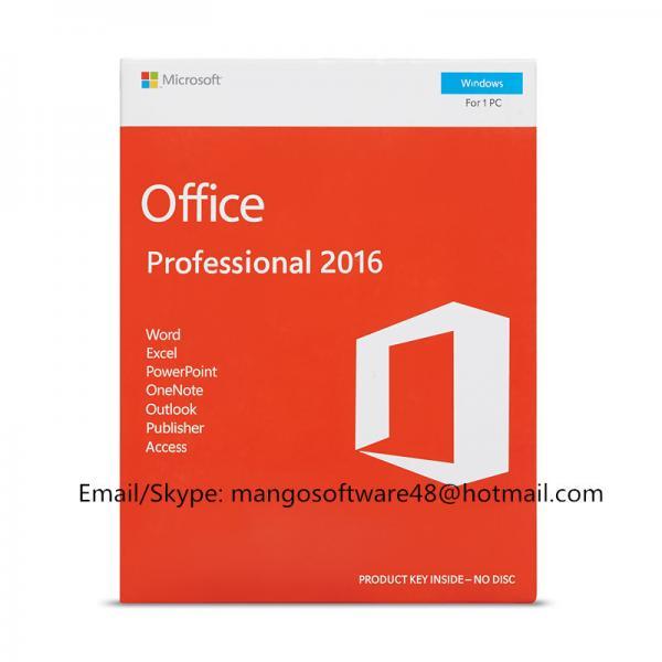 Buy English Professional Office 2016 Retail Box PKC FPP Origianl Key at wholesale prices