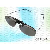 Quality RealD,Master Image, Anti-scratch,clip on, washable,Circular polarized 3D film glasses for sale