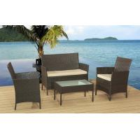 Buy cheap Hot selling 4Pcs KD Rattan Sofa Cushioned With Promotion Price For Full from wholesalers
