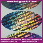 Quality 3d hologram heat resistant label for sale
