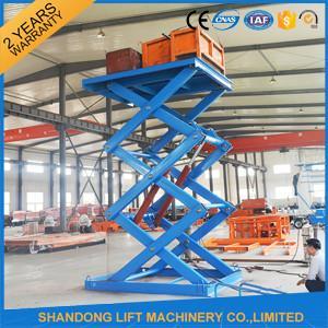 Quality 3T 5M Stationary Hydraulic Scissor Lift for sale