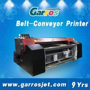 Quality Digital Textile Belt Printer 100% Cotton Fabric Belt Conveyor Direct Printing Machin for sale