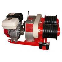 Quality Construction Tools Cable Winch Puller Gasoline Engine , Diesel Engine for sale