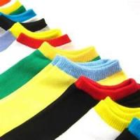 Quality Colorful Soft wear breathable custom cotton ankle sport warm socks for men for sale