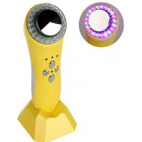 Buy cheap 1MHZ Ultrasonic Facial Machine , Red Blue Green LED Light Ultrasonic Cavitation from wholesalers