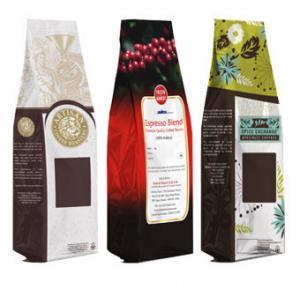 Quality Custom Printing Aluminum Foil Packaging Bags , Flexible Packaging Bags for sale