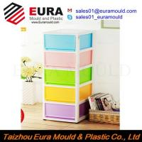 Quality EURA Taizhou High Quality Plastic Drawer Storage Box Injection Mould for sale
