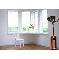 Quality Outdoor Meeting Mushroom Patio Heater With Round Base Side Mounted Wheels for sale