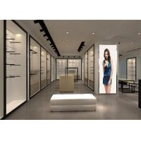 Quality Underwear Retail Clothing Shop Display Stands With Display Tables , Cabinets for sale