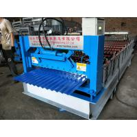 Buy cheap Type 850 Corrugated Roll Forming Machine With 4KW Hydraulic Power feeding 1000mm from wholesalers