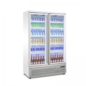 Quality Hotel Bar Supermarket Upright Showcase Beer Beverage Cooler for sale
