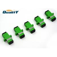 Buy Factory Connector Type SC-SC Polish APC Single mode Simplex Fiber Optics Adaptor at wholesale prices
