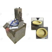 Quality Tart Shell Snack Making Machine , Snacks Manufacturing Plant 304 Stainless Steel Material for sale