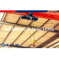 Buy Heavy Lifting Machine Green Electric Wire Rope Hoist 380 V 10t 15m at wholesale prices