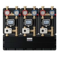 Quality 8163-A Water Mixing Cogeneration Center for Multiple Heating Source System Grouped with Triple Electric Regulating Units for sale