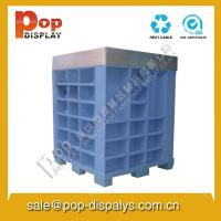 Quality Marketing Corrugated cardboard Pallet Display Stands Customized for sale