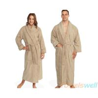 Quality Terry Cloth Bathrobe Lint Free, Ultra Soft, Durable, Scratch-Free, Machine Washable. for sale