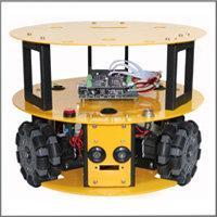 Quality 3WD 100mm Omni Wheel Mobile Arduino Robotics Car C013 for sale