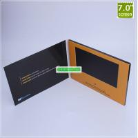 Quality Factory custom 7 inch LCD touch screen video brochure/digital video card/video christmas greeting card for sale