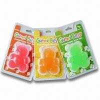 Quality Gummy Bear Air Fresheners, Made of EVA, Customized Designs are Accepted for sale