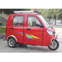 Quality Optional Clutch Gas Powered Tricycle , 16-18L Fuel Tank OEM 3 Wheel Motorized Tricycle for sale
