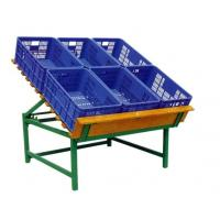Buy cheap OEM Eco-friendly Green Vegetable and fruit Storage Rack Basket for Supermarket from wholesalers