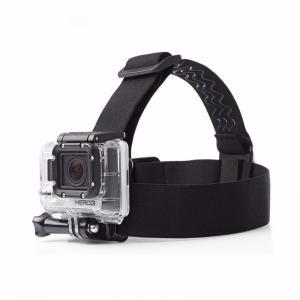 Quality Go Pro Accessories Adjustable Helmet Harness Head Strap For GoPro Hero 4 3+ 3 4 Session SJCAM SJ4000 Xiaoyi 4K for sale