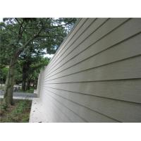 Wood Look Fiber Cement Panel Siding Modern Building Material For