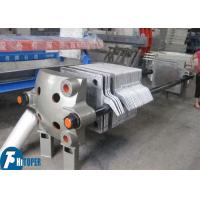 Quality Cast Iron Plate And Frame Filter Press , High Temperature Filtration Chamber Filter Press for sale