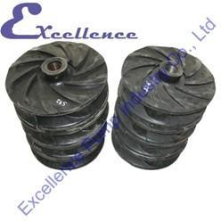 Quality Wear Resistant Slurry Pump Parts, Rubber Lined Pump Impeller for sale