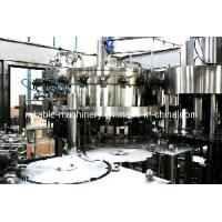 Quality Balanced Automatic Pet Bottled Soft Drink Filling Machine (CGFA18-18-6) for sale