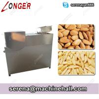 China Commercial Almond Slivering Machines|Almond Strip Cutting Machine Supplier on sale