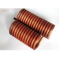 China C12000 / C12200 Copper Tube Coil Heat Exchanger for Water Tank on sale