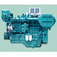 Quality Automatic Turbocharged Marine Diesel Engines With Diesel Fuel Injection for sale