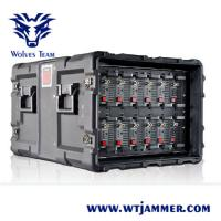 China 20MHz-11GHz Wireless Signal Jammer Device Waterproof Outdoor DDS With Software Management on sale