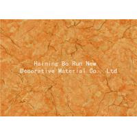 Quality Yellow Pet Heat Transfer Film Hot Stamping Foil For Wall Panel Good Effect for sale