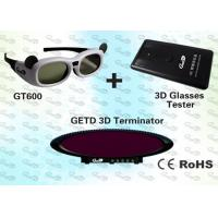 Quality OEM 3D Museum Digital 3D Glasses and IR 3D Emitter for sale