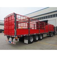 Axles Pig Transport Horse Carriage Fence Semi Trailer Customized Size for sale