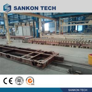 Quality High Efficient Autoclaved Aerated Concrete Production Line - W600mm Ferry Cart AAC Machine Overturn Table for sale