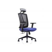 Quality High Back Fabric Mesh Office Swivel Wheeled Computer Chair for sale