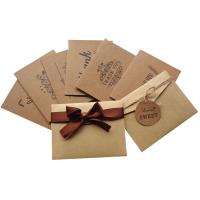 Quality Finer Packaging Custom Card Printing Kraft Paper Materials Gifts Cards for sale